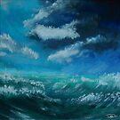 Il cielo sopra il mare - The sky over the sea by Ivan Bruffa
