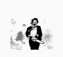 Leatherface defender of the queer Unisex T-Shirt