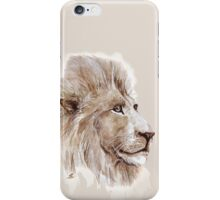 Wise lion iPhone Case/Skin