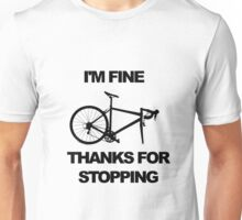 Bicycle Puncture Sarcasm Unisex T-Shirt