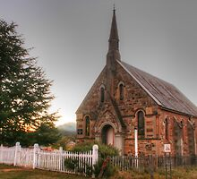 Hill End church by Michael Matthews