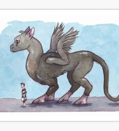 The Last Guardian- Trico and Boy Sticker