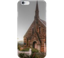 Hill End church iPhone Case/Skin