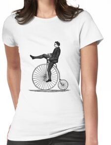 Vintage Cyclist Womens Fitted T-Shirt