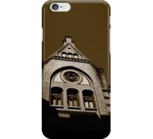 Emotions of a building iPhone Case/Skin
