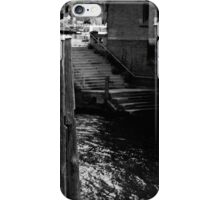 Stairs to the river 01 iPhone Case/Skin