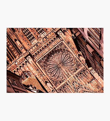 Cathedral Notre Dame of Strasbourg - Travel Photography Photographic Print