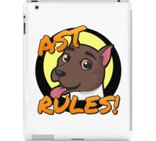 AST Rules! American Stafford Terrier iPad Case/Skin