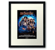 The Comet Kids - Official Movie Poster  Framed Print