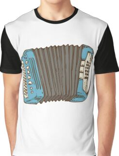 Blue Russian Bayan Graphic T-Shirt