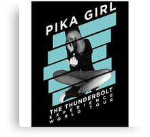 Pika Girl  Canvas Print