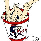 Kentucky Fried Human bucket by Andrei Verner