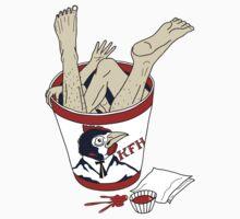 Kentucky Fried Human bucket T-Shirt