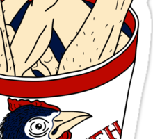 Kentucky Fried Human bucket Sticker