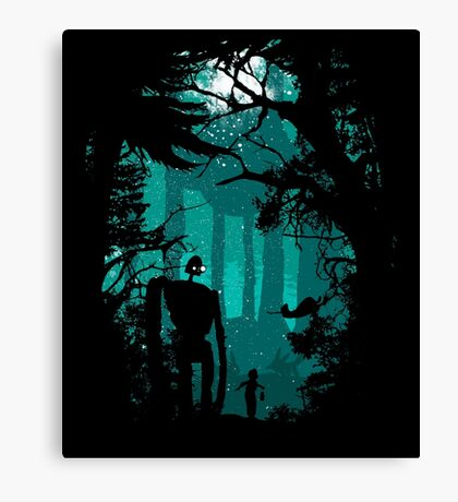 Looking at the stars Canvas Print