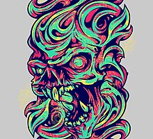 Abstract Skull by Esoteric Exposal