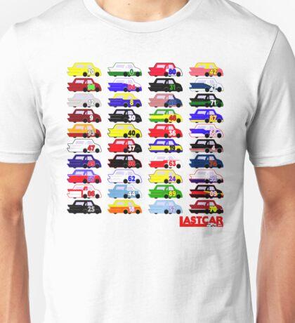 LASTCAR.info - Famous Cars Unisex T-Shirt