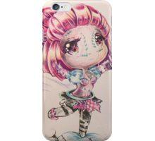 Sewn chibi Orianna iPhone Case/Skin
