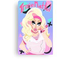 80's Barbie Realness (Trixie Mattel) Canvas Print