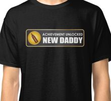 Achievement Unlocked New Daddy Classic T-Shirt