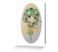 Guardian of the woods: Dryad Soraka Greeting Card
