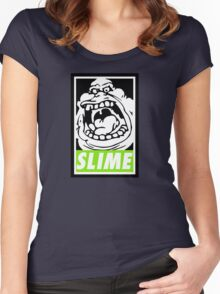 Obey Slimer Women's Fitted Scoop T-Shirt