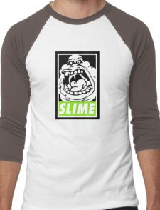 Obey Slimer Men's Baseball ¾ T-Shirt