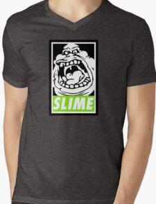 Obey Slimer Mens V-Neck T-Shirt