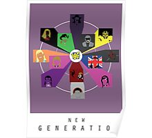 WWE- New Generation Era Poster