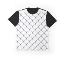 The metal net. Black and white netting Graphic T-Shirt