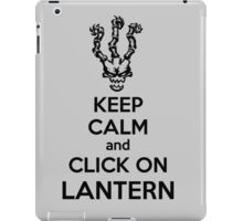 Thresh - League of Legends - Keep Calm and Click On Lantern - Black iPad Case/Skin