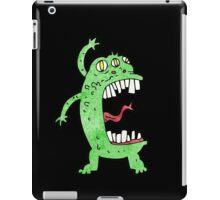 crazy alien monster iPad Case/Skin