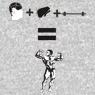 Food + Brain + Weights by jack-bradley