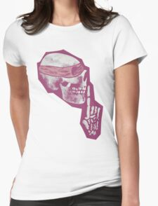 Shush the Dead Womens Fitted T-Shirt