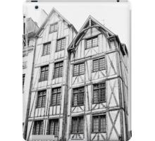 Paris 1975 a forgotten past and now destroyed  Olao-Olavia by Okaio Créations   n6 (h) iPad Case/Skin