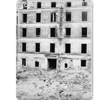 Paris 1975 a forgotten past and now destroyed  Olao-Olavia by Okaio Créations   n8 (h) iPad Case/Skin