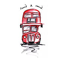Wheels on the Bus Photographic Print