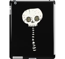 spooky skull and spine iPad Case/Skin