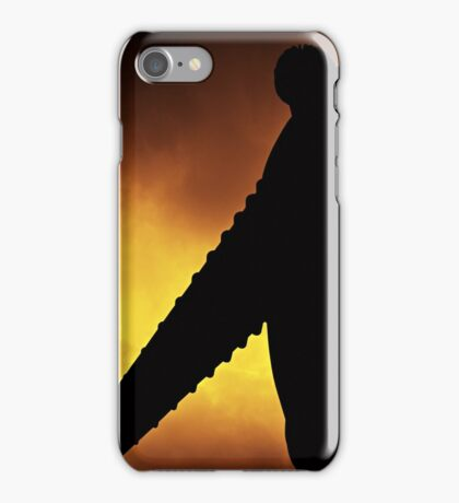 The Angel of the North - Gateshead iPhone Case/Skin