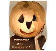 Trick or Treat? Poster