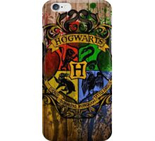 hogwarts university iPhone Case/Skin
