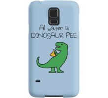 All Water Is Dinosaur Pee (T-Rex) Samsung Galaxy Case/Skin