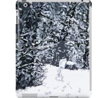 SNOW COVERED FOREST 2 iPad Case/Skin