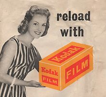 Reload with Kodak by David Asch