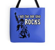 Breaking Bad 'I am the one who knocks' parody Tote Bag