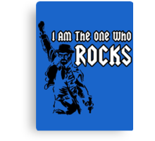 Breaking Bad 'I am the one who knocks' parody Canvas Print