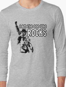Breaking Bad 'I am the one who knocks' parody Long Sleeve T-Shirt