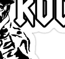 Breaking Bad 'I am the one who knocks' parody Sticker
