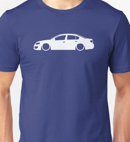 Lowered car for VW Passat B6 R36 sedan / saloon enthusiasts Unisex T-Shirt