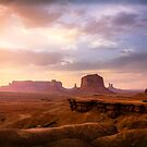 John Ford's Point, Monument Valley, Sunset by Philip Kearney